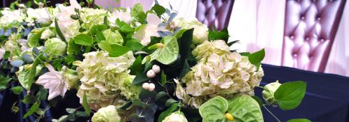 ブライダル・披露宴・パーティ会場の装飾花事例
