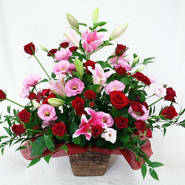 お祝い、花束アレンジメント